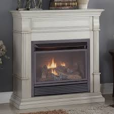 duluth forge dual fuel ventless gas fireplace 26 000 btu remote in ventless gas fireplace