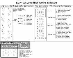 bmw amp wiring diagram wiring diagram schematics BMW Factory Wiring Diagrams at 1997 Bmw 328i Stereo Wiring Diagram