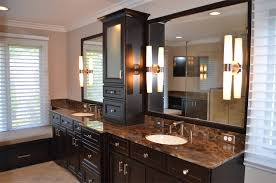 bathroom cabinet remodel. Dark Brown Black Cabinet Remodel Bathroom A
