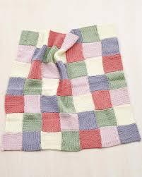 Martha Stewart Crafts Lion Brand® Yarn Extra Soft Wool Blend Loom ... & Martha Stewart Crafts Lion Brand® Yarn Extra Soft Wool Blend Loom-Knit  Patchwork Garter Baby Throw Adamdwight.com