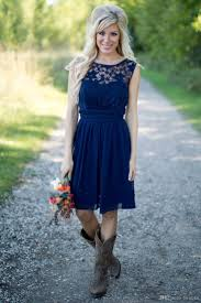Bridesmaid Dresses With Boots Gallery  Braidsmaid Dress Cocktail Country Western Style Bridesmaid Dresses