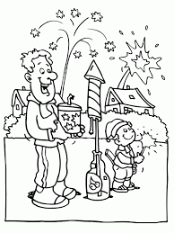 Small Picture Play Fireworks In New Year Eve Coloring Pages New Year Coloring