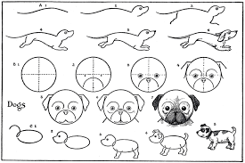 cute dogs drawings step by step. Unique Cute To Cute Dogs Drawings Step By T