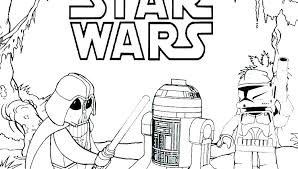 Star Wars Clone Wars Coloring Pages Printable