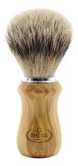 Купить <b>помазок для бритья Щетина</b> барсука 12см 6832 Omega ...
