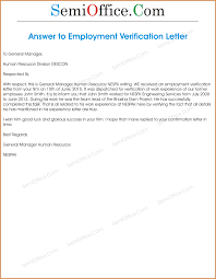 Employment Verification Letter 14 Download Free Proof Of Income