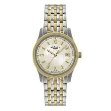 rotary men s two tone bracelet watch h samuel rotary men s two tone bracelet watch product number 9205020