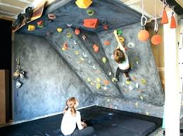 how to build a bouldering wall climbing wall outdoor rock kids home homes build own bouldering