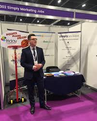 simply marketing jobs linkedin we re at the b2b marketing expo today and tomorrow at london s excel need any help your recruitment come have a chat us at stand b302