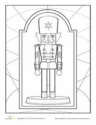 Small Picture Nutcracker Coloring Sheet Worksheets Xmas and Nutcracker crafts