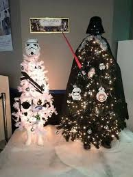 How awesome is the star Wars themed Christmas tree! I loved theme Christmas  tress every year you get to pick a new theme makes every year that much  more ...