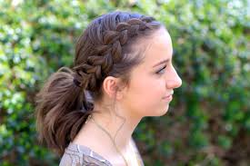 Dutch Accent Ponytail Short Hairstyles Cute Girls Hairstyles
