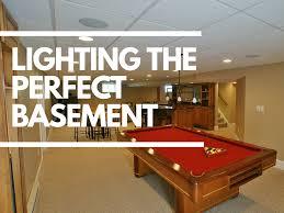 Image Basement Ceiling 1000bulbscom Blog Lighting The Perfect Basement 1000bulbscom Blog