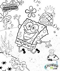 Small Picture Printable Coloring Pages Of Spongebob Coloring Pages