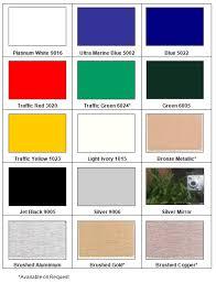 Acp Colour Chart Colour Chart Ali Panel Acp Acm Sign Products