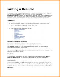 What Is A Resume For Jobs How write a resume for job allowed depict what are written in cv 57