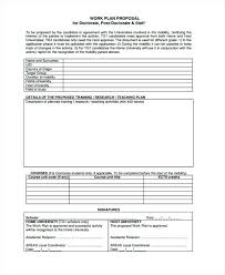 Research Plan Template Sample Proposal Work Format 2 3 Glotro Co