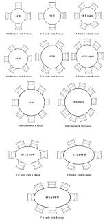 captivating round dining table for 8 dimensions 14 six designs within 4 size