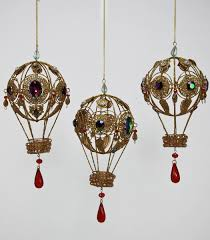katherine s bead chandelier hot air balloon steampunk ornament journey collection everything by katherine s collection