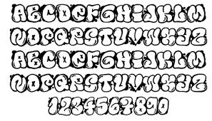 Bubble Letters Font Printable Bubble Fonts Download Them Or Print
