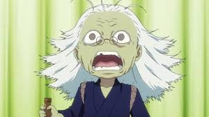Image result for an old man anime character