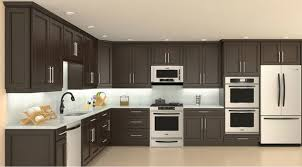 Model 4D Chocolate Maple recessed Panel Kitchen Cabinets