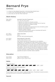 Security Supervisor Resume Impressive Security Supervisor Resume Samples VisualCV Resume Samples Database