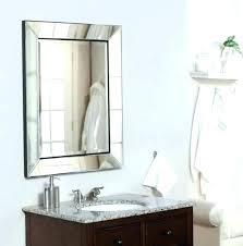 inset medicine cabinet mirror