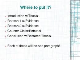 argumentative essay ppt 11