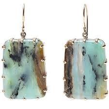 jamie joseph peruvian opal drop earrings 1 200 liked on polyvore featuring jewelry