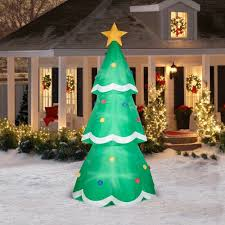 Inflatable Christmas Tree With Lights Halloween Tree By Rating