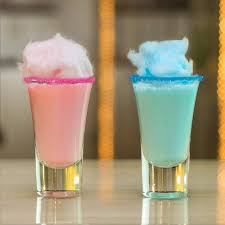 cotton candy shots
