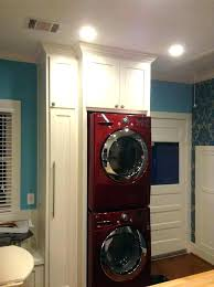 fabulous washer and dryer cabinets post counter depth closet dimensions typical