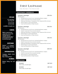 Publisher Cv Templates Free Downloadable Blank Ms Word Resume Templates Spacesheep Co
