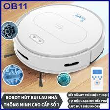 Robot hút bụi lau nhà thông minh điều khiển từ xa, tự động sạc khi hết pin  robot hút bụi thông minh ebo - Sắp xếp theo liên quan sản phẩm