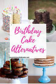 As a birthday cake alternative, sweet potato waffles are a healthy option. Birthday Cake Alternatives