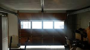 garage door opens 6 inches then stops