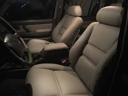 Land Cruiser Heaven 80 Series Leather Seat Covers | Landcruiser ...