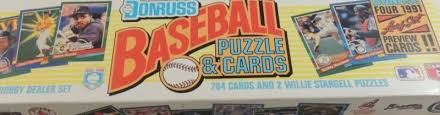 Only cards with the rc tag in the beckett database are included. Which 1991 Donruss Baseball Cards Are Most Valuable Wax Pack Gods