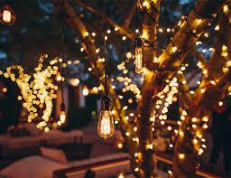 outdoor fairy lighting. Outdoor Battery String Lights, 100 Warm White LED, 10m Fairy Lighting R