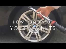 Tire Torque Chart 2016 How To Torque Lug Nuts Bmw Safety