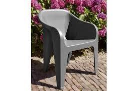view almeria stackable chair graphite