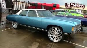 4dr. 1971 Caprice Donk on 26