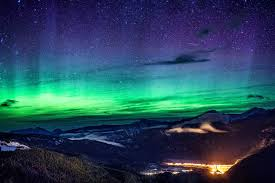 northern lights mountains. rockymountains-6 northern lights mountains e