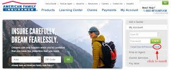 american family insurance pay amfam insurance login cc bank
