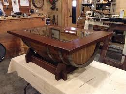 wine barrel furniture plans. Architecture And Interior: Impressing Best 25 Wine Barrel Coffee Table Ideas On Pinterest At Sale Furniture Plans S