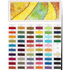 Wonderfil Thread Charts Wonderfil Spagetti Thread Colour Chart