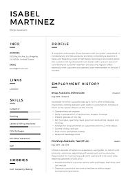Cv Shop Assistant Shop Assistant Resume Sample Writing Guide Resumeviking Com