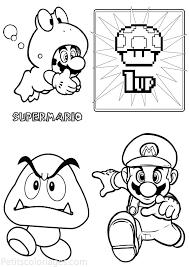 138 Dessins De Coloriage Mario Bros Imprimer Sur Laguerche Com Dessins De Champignons Az Coloriage L L L L L