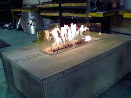 outdoor glass fire pit image of burner kits propane pits lofty design ideas gas with gl